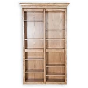 murphy door bookcase bi folding oak bookcase door murphy door