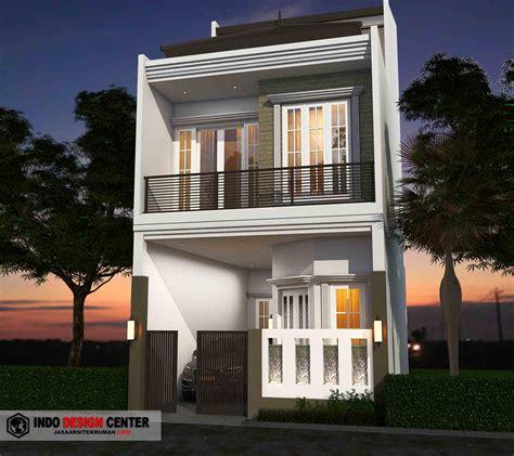 desain rumah  lantai terbaru elegan  modern jasa arsitek rumah