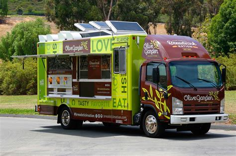 Garden Trucking by Olive Garden Food Truck Heads To Socal With Free
