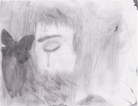 imagenes de tristeza a lapiz ciudad del carmen ceche dibujo a l 225 piz tristeza