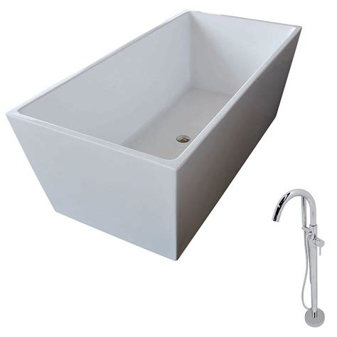 non standard bathtubs anzzi fjord 5 6 ft acrylic classic freestanding