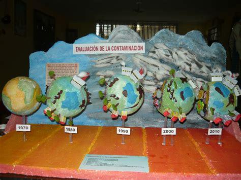 imagenes de maquetas escolares maquetas escolares evolucion de la contaminacion