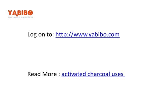 Http Naturalsociety Health Benefits Of Activated Charcoal Medicine Detox by Uses And Benefits Of Activated Charcoalppt2