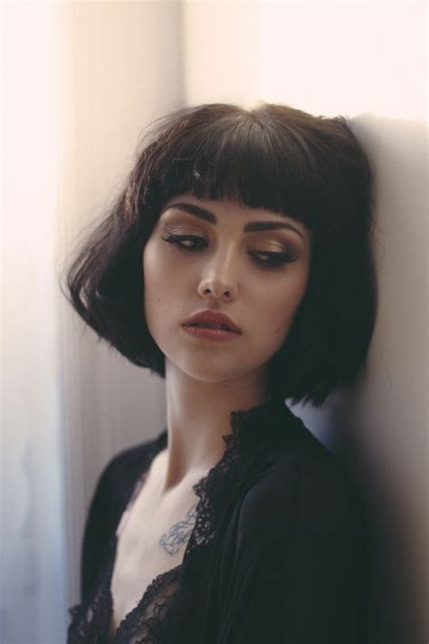 short brunette hairstyles pinterest 25 best ideas about bangs short hair on pinterest short