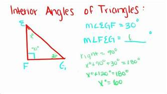 introduction to geometry 7 interior angles of