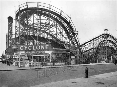 roller coaster tales of 1960 s coney island books on june 26 1927 the cyclone roller coaster opens on