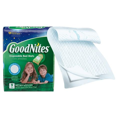 goodnites disposable bed mats disposable underpads