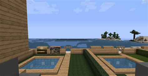 minecraft großes haus beachhouse villa minecraft project