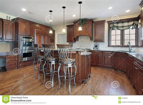 new construction kitchen kitchen in new construction home stock image image 9705911