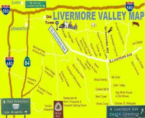 livermore wineries map