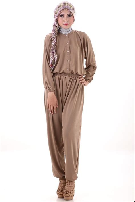 Jumpsuit Muslim nadya jumpsuit dress muslim wanita