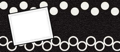 header design black and white blog designs by dani faded black n white circles header 1