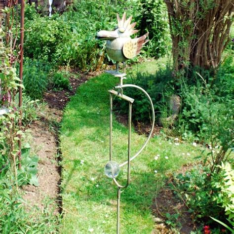 rocking bird garden ornament rocking bird garden ornament large metal rocking