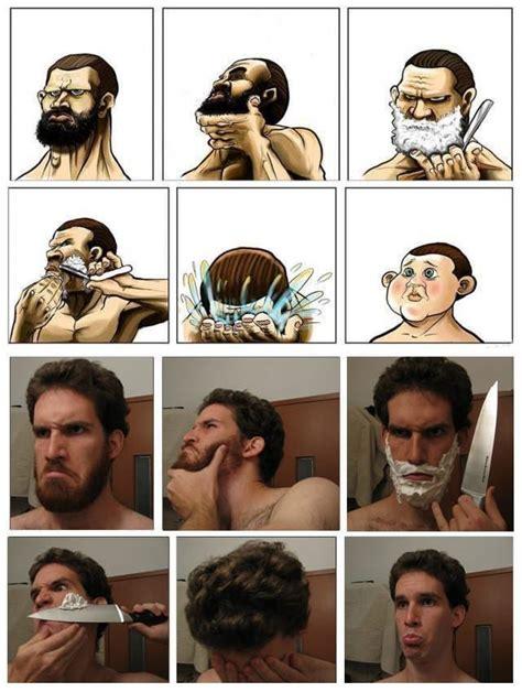 Shaving Beard Meme - why bearded men shouldnt shave