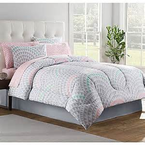 Pink And Grey Bed Sets Buy 6 Comforter Set In Grey From Bed Bath Beyond
