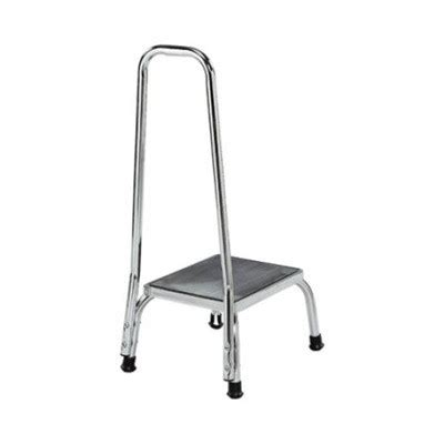 Stainless Steel Step Stool With Handrail by Step Stool With Handrail Chrome Equipment