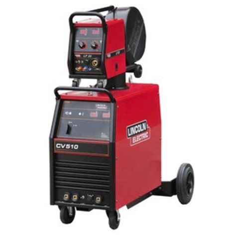 lincoln ideal arc cv510 mig welder