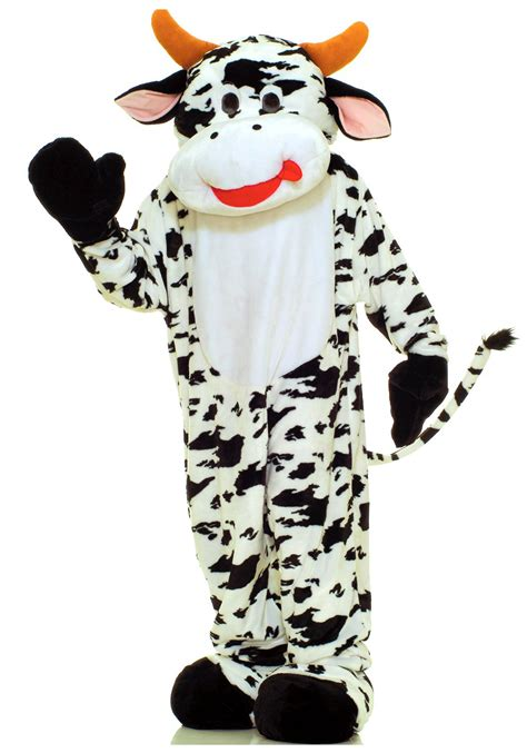 cow costume mascot cow costume