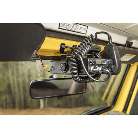 97 Jeep Wrangler Windshield Rugged Ridge 13551 08 Cb Radio Mount Windshield 97 02