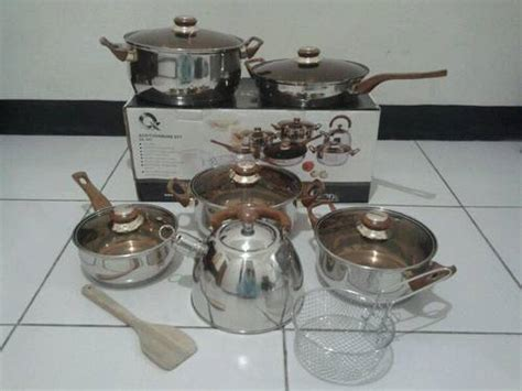 Oxone 933 Panci Eco Cookware Set Packing Kayu Sp dinomarket pasardino oxone eco cookware set panci oxone