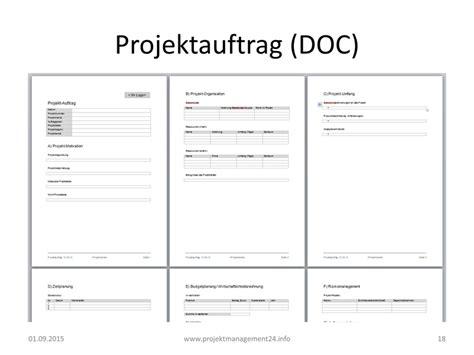 Word Vorlage Zeitplan projektauftrag in word projektmanagement