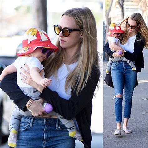 amanda seyfried name amanda seyfried shopping in la with her 10 month old