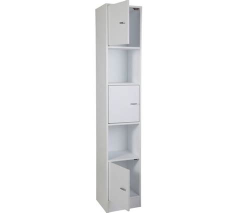 buy wow home bathroom storage unit white at argos