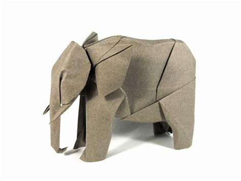 Folded Paper Animals - custom designed animal origami by nguyen hung cuong