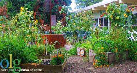 outdoor learning gardens atkinson elementary pta
