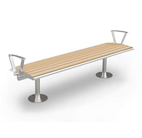 park bench materials backless recycled plastic park bench cab 870b canaan