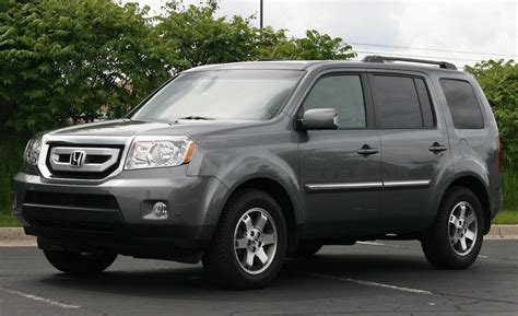 grey honda pilot 2009 honda pilot photos informations articles