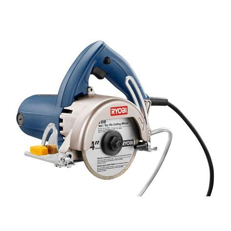 Garden Hose Adapter For Faucet Ryobi Tc400 Handheld Tile Saw Tc400 The Home Depot