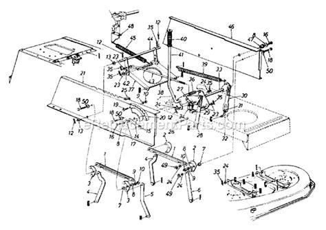 yard machine lawn mower belt diagram yard machines 13am675g062 parts list and diagram 1998