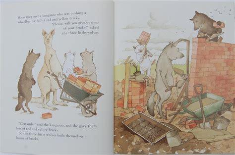 three little wolves and 1405275030 three little wolves and the big bad pig exodus books