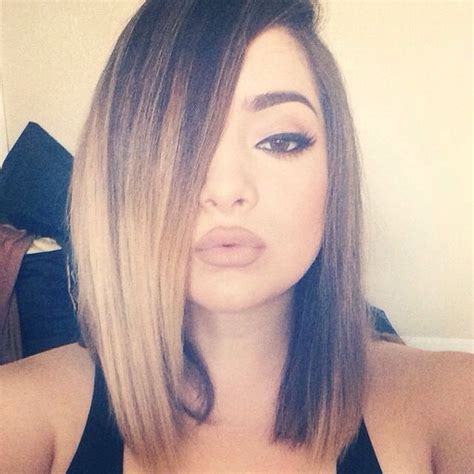 medium straight hair from behind 25 best ideas about straight ombre hair on pinterest