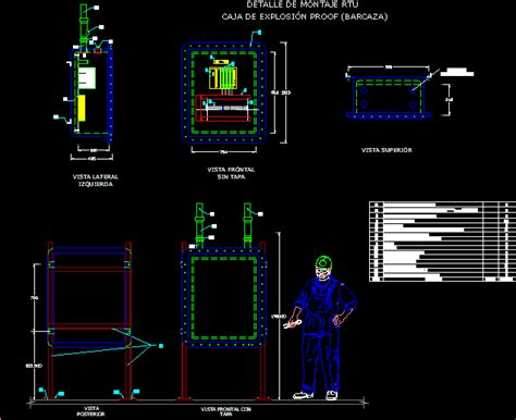 box auto dwg details explosion proof box dwg detail for autocad