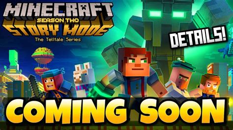 Ps4 Minecraf Story Season2 minecraft story mode season 2 confirmed release date details ios android ps4 xbox one pc