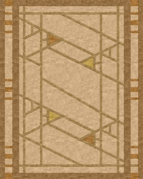 frank lloyd wright inspired rugs 1000 images about prairie mission style rugs on custom rugs frank lloyd wright and