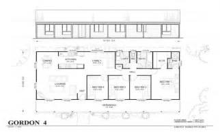 inexpensive floor plans affordable 4 bedroom house plans 4 bedroom metal home