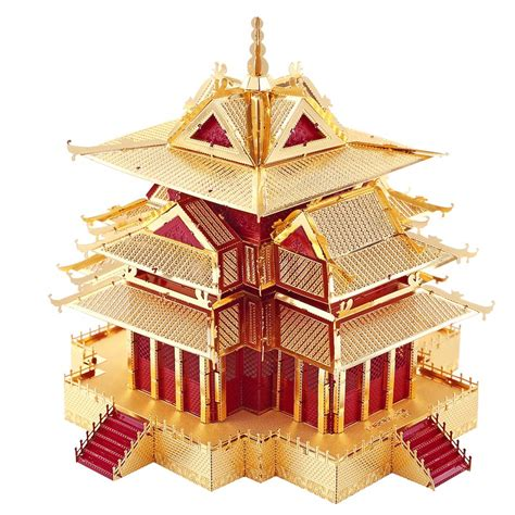 Mini 3d Metal Puzzle Ancient Architecture popular ancient architecture buy cheap ancient architecture lots from china