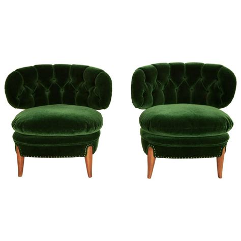 otto schulz pair of cocktail chairs at 1stdibs