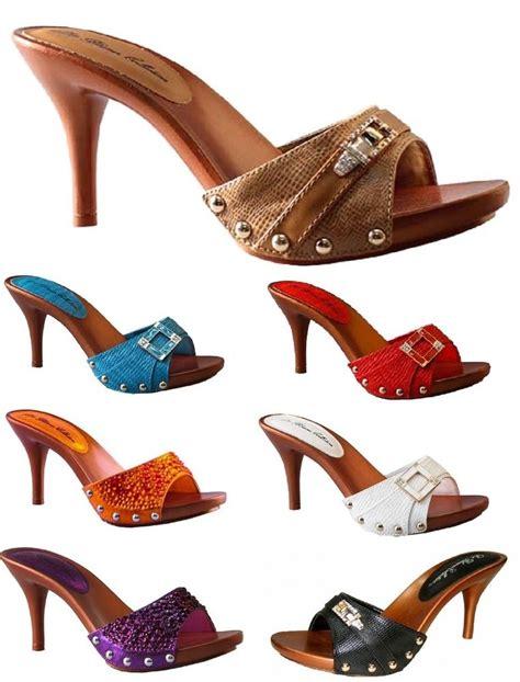 high heel slide lightweight strappy slide on sandals high