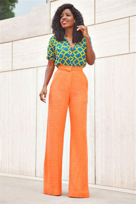 inspiration look avec un chemisier stella jean par style