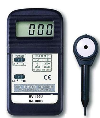 Uv Light Meter by Mt Equipments Esl Industrial Support Services