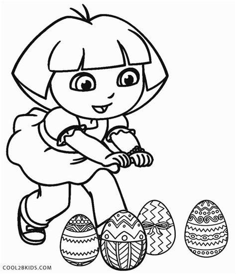 easter coloring pages dora easter bunny coloring pages easter colouring dora the