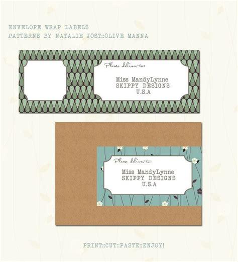 envelope address pattern 11 best mailing labels images on pinterest mailing