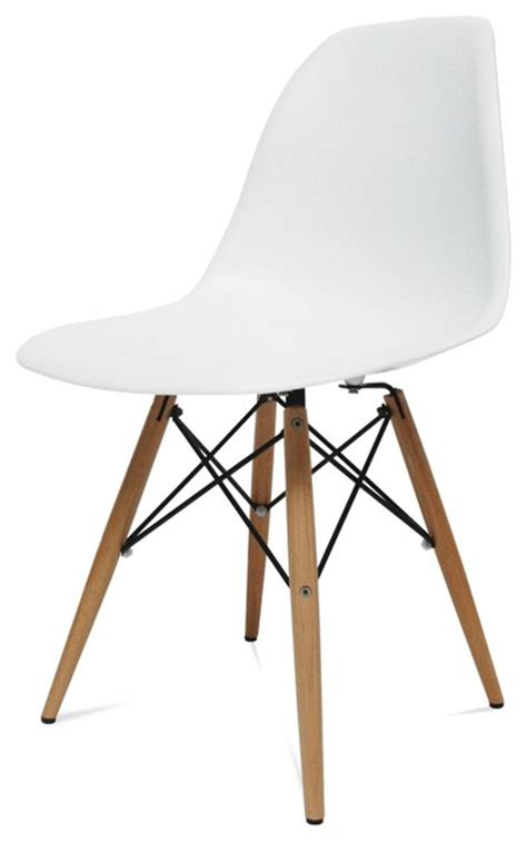 mid century modern wood leg side chair white midcentury dining chairs by beverly stores
