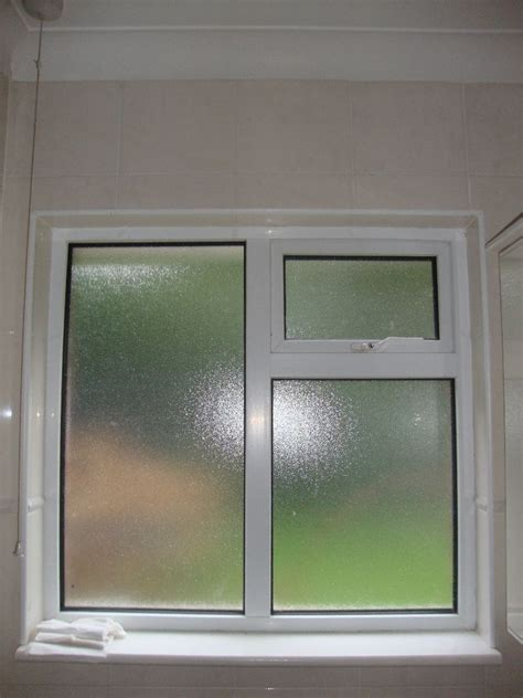 upvc bathroom frosted glass window georgian bars style