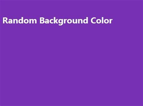 jquery background color random background color fader with jquery and jquery ui