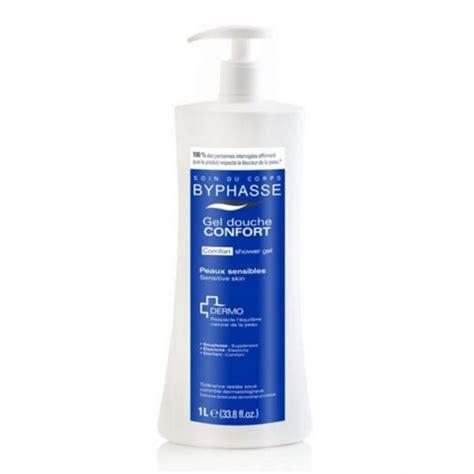 ducha confort byphasse gel de ducha dermo confort piel sensible 1lt